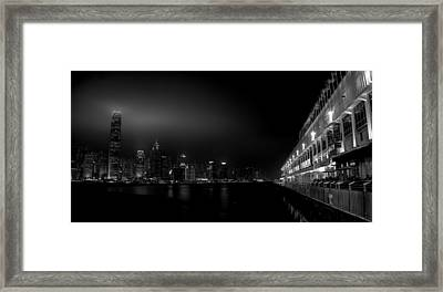 Black Orient Framed Print by Peter Thoeny