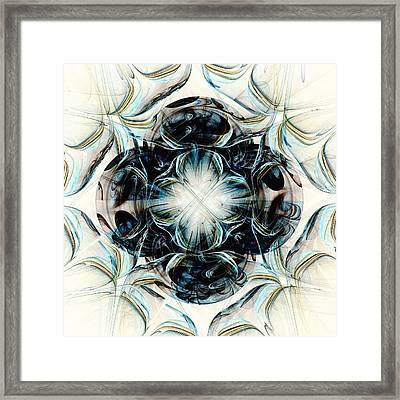 Black Pearls Framed Print by Anastasiya Malakhova
