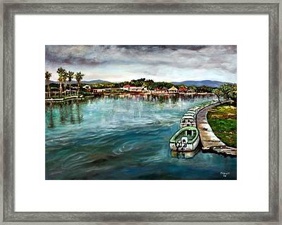 Black River 1 Framed Print