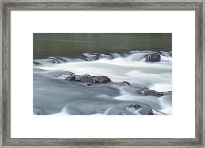 Black River Framed Print