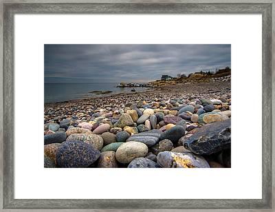 Black Rock Beach Framed Print