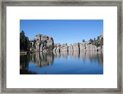 Black  Rock North Dakota Framed Print by Robert  Torkomian