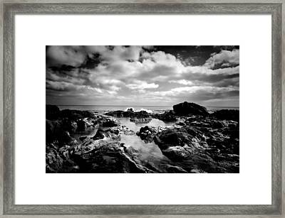 Black Rocks 1 Framed Print