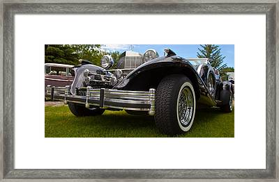 Framed Print featuring the photograph Black Rod by Mick Flynn