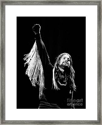 Black Sabbath Ozzy 1977 Framed Print