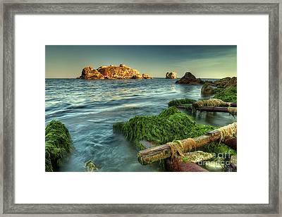 Black Sea Dream... Framed Print by Stefan Stefanov
