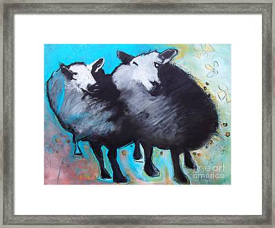 Black Sheep Framed Print