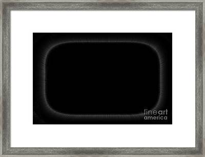 Black Framed Print by Steven Macanka