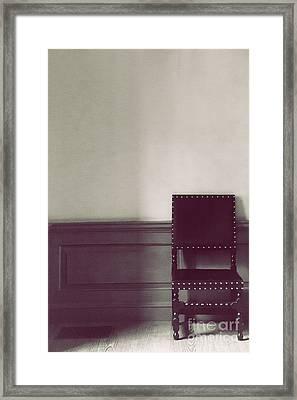Black Stud Framed Print by Margie Hurwich