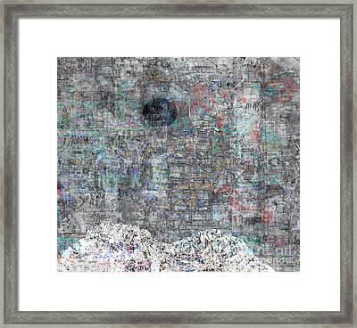 Black Sun Framed Print by Andy  Mercer