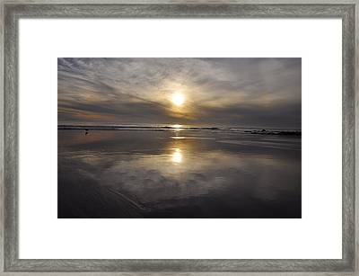 Black Sunset Framed Print by Gandz Photography