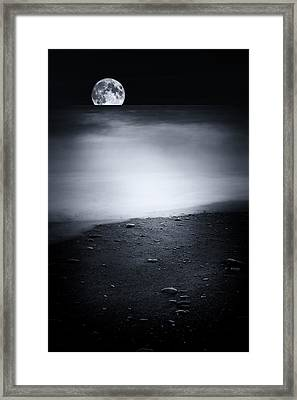 Black Sweet Framed Print