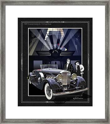 Black Tie Affair Framed Print by Roger Beltz