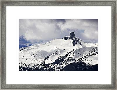 Black Tusk Peak Framed Print