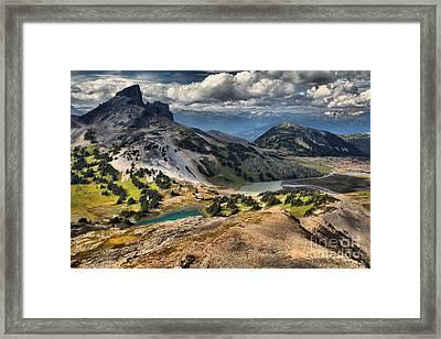 Black Tusk Viewpoint Framed Print