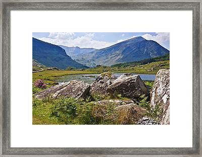 Black Valley Killarney Ireland Framed Print by Jane McIlroy