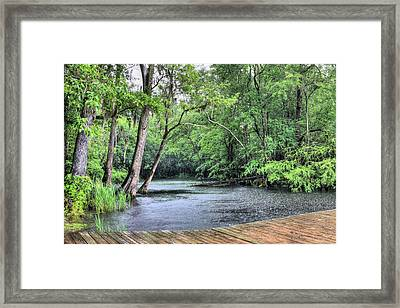 Black Water Thunder Framed Print by JC Findley