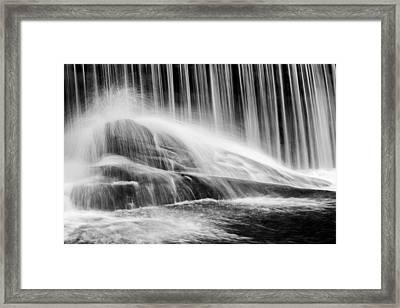 Blackberry River Falls Framed Print by Bill Wakeley