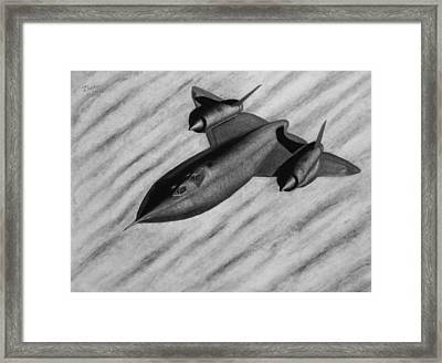 Blackbird Framed Print by Vishvesh Tadsare