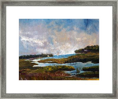 Blackfish Creek Framed Print
