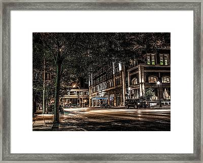 Framed Print featuring the photograph Blackhawk Hotel by Ray Congrove