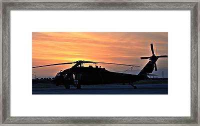 Blackhawk Sunrise V Framed Print by Joshua Burcham