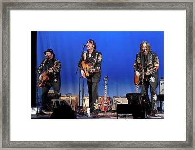Blackie And The Rodeo Kings Framed Print by Randall Nyhof