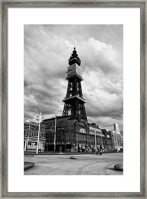 Framed Print featuring the photograph Blackpool Tower by Stephen Taylor