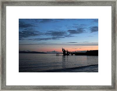 Blackrock After Sunset Framed Print