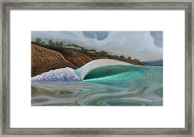 Blacks Beach Framed Print by Nathan Ledyard