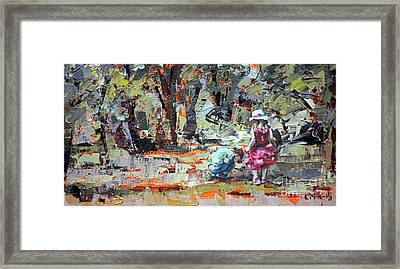 Black's Walk Reserve Framed Print by Claire McCall