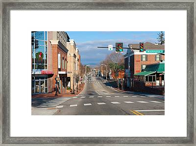 Blacksburg Virginia Framed Print