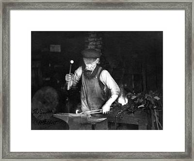 Blacksmith, C1910 Framed Print by Granger