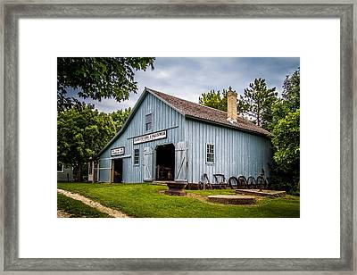 Blacksmith Shop Framed Print