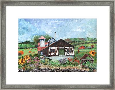Blacksmith Shop Framed Print by William Killen