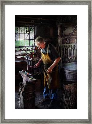 Blacksmith - Starting With A Bang  Framed Print