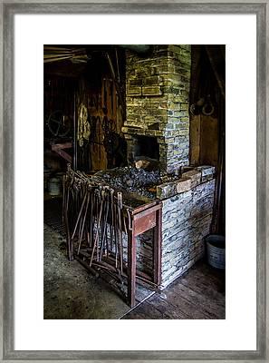 Blacksmiths Forge Framed Print