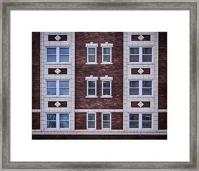 Blackstone Building #2 - Omaha - Nebraska Framed Print by Nikolyn McDonald