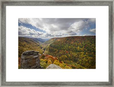 Blackwater Canyon Framed Print