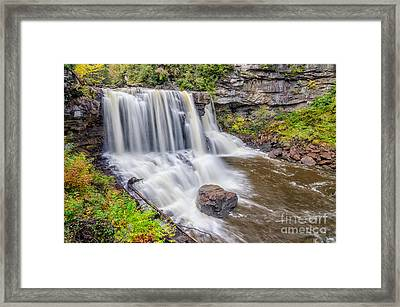 Blackwater Falls Framed Print by Anthony Heflin