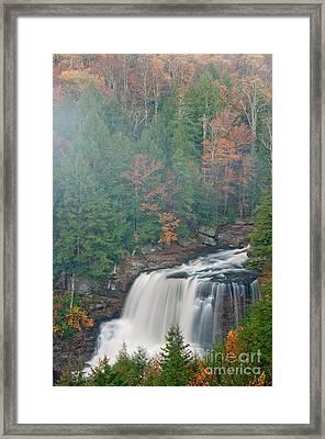 Blackwater Falls D300_15998 Framed Print by Kevin Funk