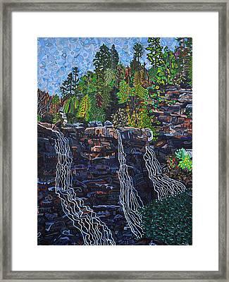 Blackwater Falls Framed Print by Micah Mullen