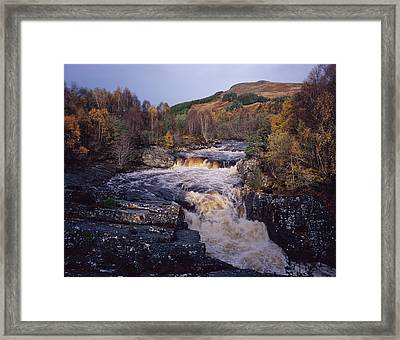 Blackwater Falls - Scotland Framed Print