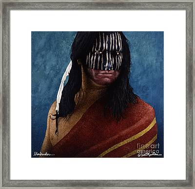 Blackwater... Framed Print by Will Bullas