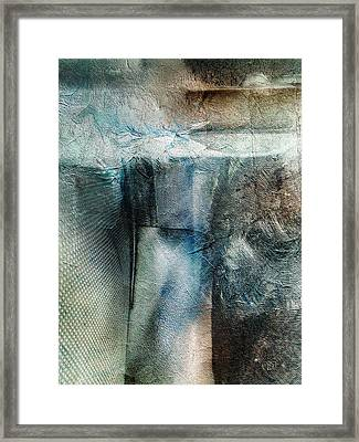 Bladed Truth Framed Print by Jean Moore