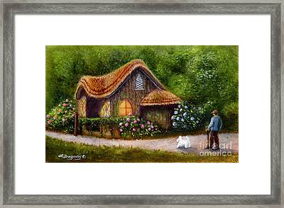 Blaise Rustic Cottage Framed Print
