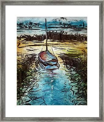 Blakeney Key Framed Print by William Rowsell