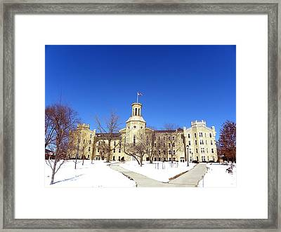 Blanchard Hall Framed Print