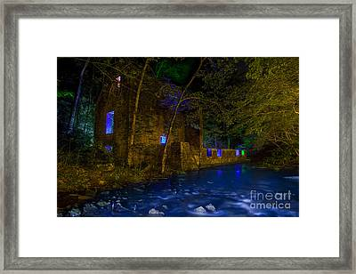 Blanchard's Mill Framed Print by Keith Kapple