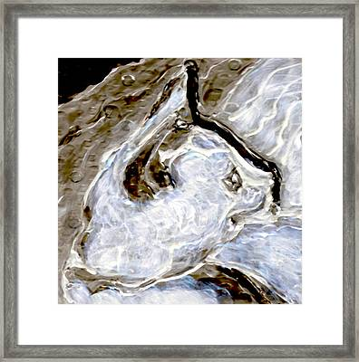Blancneige -2 Framed Print by Hatin Josee